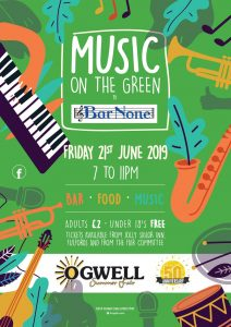 Music on the Green @ Ogwell Village Green